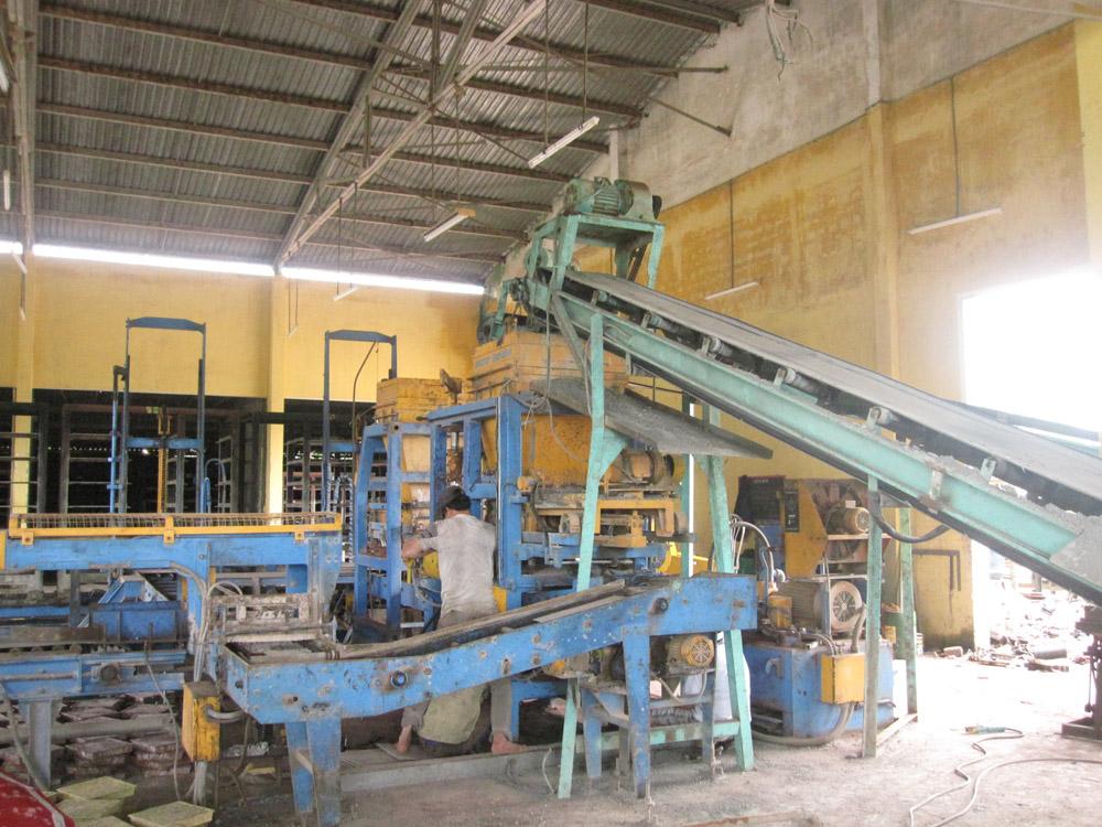 Nhà máy sản xuất đá công ty Sơn Hà