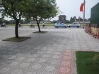 Sân gạch Terrazzo