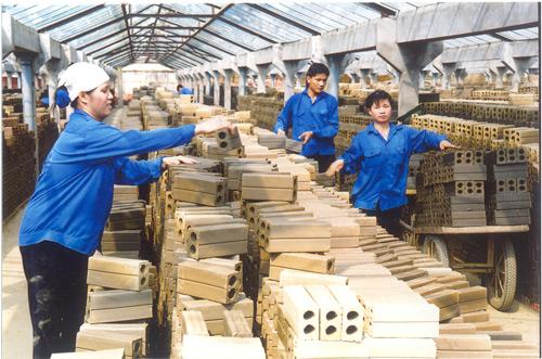 Phú Điền - Hình ảnh các loại vật liệu gốm xây dựng
