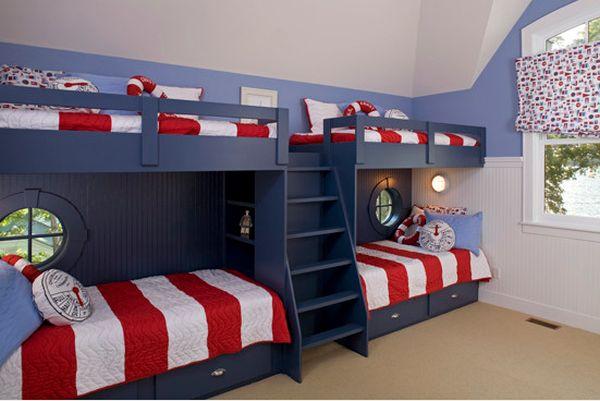 Phú Điền- Làm rộng nhà nhỏ với giường tầng