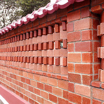 Phú Điền- sử dụng gạch tuynel trang trí (mẫu_1)