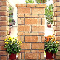 Phú Điền- sử dụng gạch tuynel trang trí (mẫu_3)