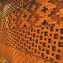 Phú Điền- sử dụng gạch tuynel trang trí (mẫu_9)