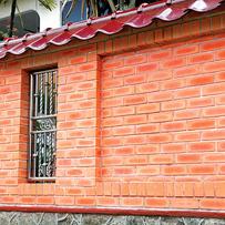 Phú Điền- sử dụng gạch tuynel trang trí (mẫu_19)